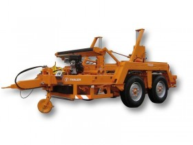 TTA 1286 with drum drive with double friction roller